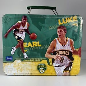 Super Sonics Lunch Box Sports NBA collectable